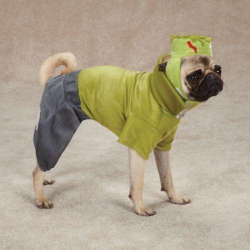 casual canine dog frankenhound frankenstein halloween costume size medium nwt