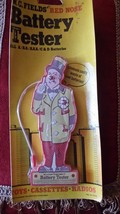 W.C.FIELDS VINTAGE BATTERY TESTER, NIP - $39.95