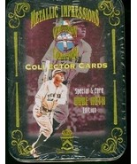 1994 Babe Ruth Cooperstown Collection 5 card Metal set - Factory Never O... - $22.99