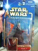 SHAAK TI Jedi Master Figure STAR WARS Attack of the Clones new 2002 #10 Hasbro - $12.99