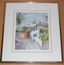1990 C. HOLDING PRINTER'S ALLEY ST. GEORGE BERMUDA - $289.49