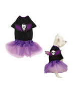 Casual Canine goth gothic punk wings Skull Dog ... - $9.99