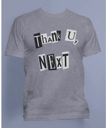 Thank U, Next Pop art ariana grande Men Tee / T-shirt S to 3XL Sport Grey - $20.00+