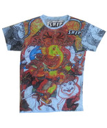 kcs Men T Shirt Buddha Ganesh Nirvana India Hindu HIPPIE Peace M hobo Bo... - $18.49