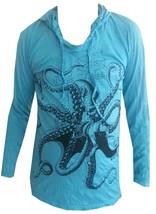 tq Yoga Hoodie Octopus Ocean Sea nature Peace Zen Hobo Boho Sure Hippie ... - $22.76