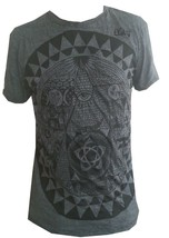 Yoga Men T Shirt Pyramid Egypt Eye Providence Zen  Peace Hobo Boho L RARE Sure - $19.99
