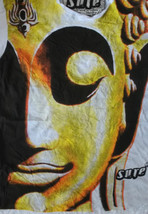 Bf1 Men T Shirt Buddha Ganesha Lotus  India Hippie Peace Hobo Boho  M Rare Sure - $18.68