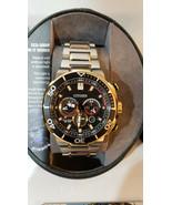 NEW Citizen Eco-Drive CA4258-87E Brycen 46mm Two-Tone S/Steel Chrono Watch  - $188.09