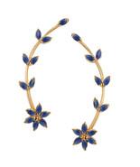 Efulgenz Designer Cubic Zirconia Cubic Zirconia Stone Earcuff Earrings f... - $25.00