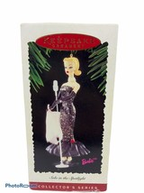NIB Vintage Hallmark Keepsake Mattel Barbie Solo In The Spotlight Ornament - $13.95