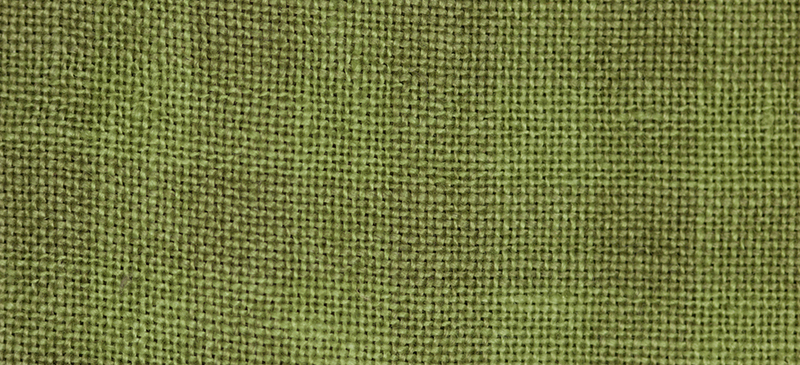 Primary image for 28ct Natural/Scuppernong Gingham overdyed linen 13x18 cross stitch fabric Weeks