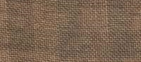 Primary image for 28ct Natural/Cocoa Gingham linen 13x18 cross stitch fabric Weeks Dye