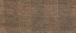 28ct Natural/Cocoa Gingham linen 13x18 cross stitch fabric Weeks Dye - $14.40