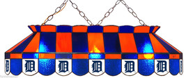 """DETROIT TIGERS MLB 40"""" STAINED GLASS BILLIARD POOL TABLE LIGHT HANGING BAR LAMP - $1,099.00"""
