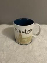 Starbucks MUNCHEN 2014 Global Icon Series 16 oz mug - $24.74