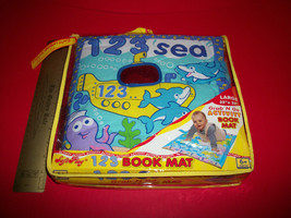 Toy Gift Baby Activity Book Mat Grab-N-Go 123 Sea Soft Play Learning Shower Set - $28.49