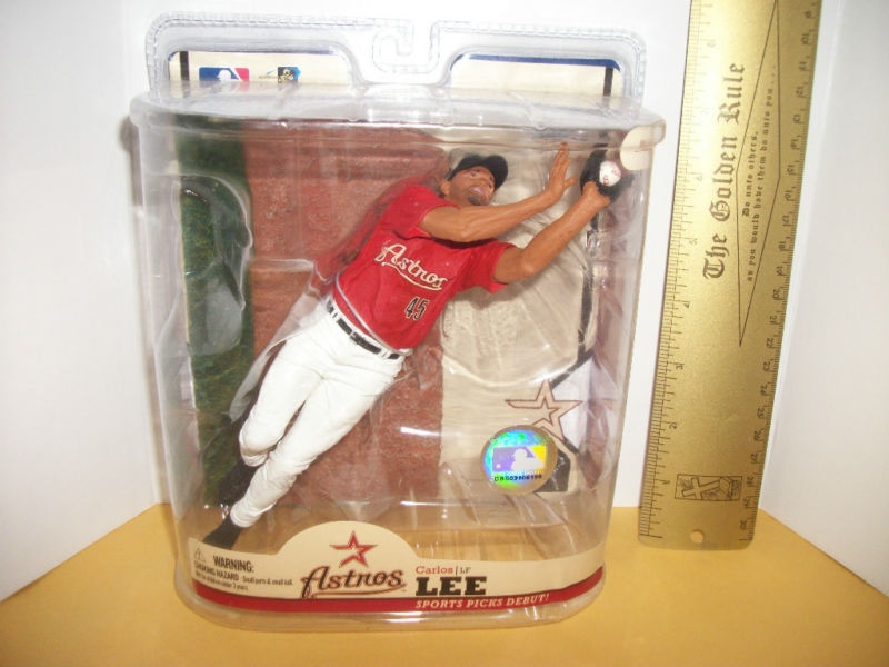 Primary image for Baseball MLB Action Figure Toy Carlos Lee Houston Astros Major League Base Ball