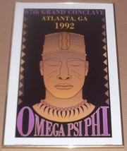 1992 ROBYN M. PHILLIPS BLACK FRATERNITY OMEGA P... - $220.89