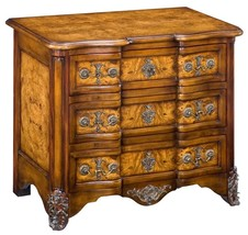 GORGEOUS BURL WOOD FINISH BED  SIDE CHEST/NIGHT... - $1,282.05