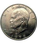 1972-S Uncirculated Eisenhower 40% Silver Dolla... - $16.57