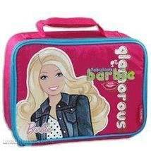 BARBIE LUNCHBOX-INCLUDES SNACK JAR BY THERMOS CO. - $14.95