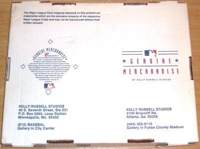 1993 FLORIDA MARLINS BENITO SANTIAGO RUSSELL 2505 PRINT