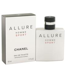 Chanel Allure Homme Sport Cologne 1.7 Oz Eau De Toilette Spray  image 1