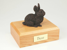 Rabbit Bronze Figurine Pet Cremation Urn Available in 3 Different Color ... - $169.99+