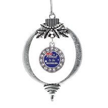 Inspired Silver Proud to be Australian Circle Holiday Decoration Christmas Tree  - $14.69