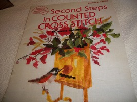 Second Steps in Counted Cross Stitch - $3.00