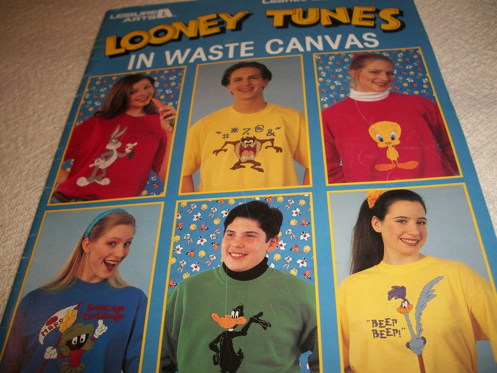 Primary image for Looney Tunes In Waste Canvas Patterns