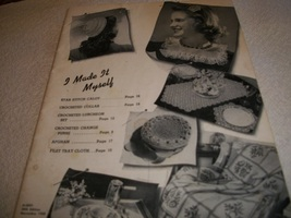 I Made It Myself Needlework Book - $15.00