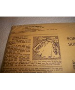 Vintage Workbasket Iron On Transfers - $10.00
