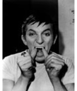 Dark Shadows FM Jonathan  Frid Vintage 8X10 BW Comedy TV Memorabilia Photo - $4.99