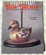Tole World -- Back Issue August, 1983, Volume 7, Number 8,  Painting Mag... - $5.00