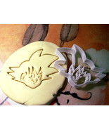 DBZ Dragonball Z Goku Cookie Cutter Stencil Stamp - $13.00