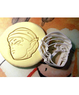 DBZ Dragonball Z Goku Picollo Cookie Cutter Stencil Stamp - $13.00