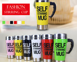 500ml Coffee Milk Automatic Mixing Cup Self Stirring Mug Stainless Steel Thermal