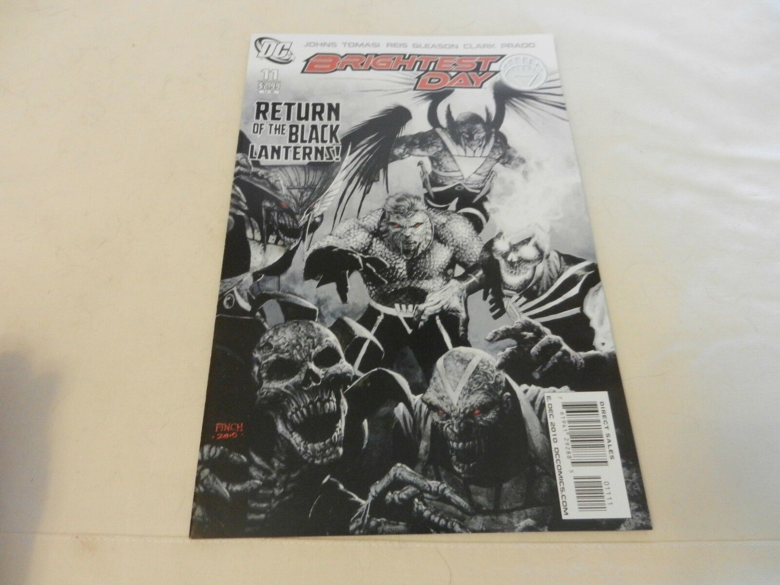 Brightest Day Return of The Black Lanterns!  DC Comics #11 December 2010