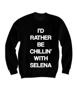Selena Gomez Sweatshirt Crewneck Shirt Sweater Jumper Clothes Clothing -... - $25.00
