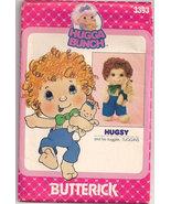 Butterick 3393 HUGGA BUNCH HUGSY TUGGINS  - $16.00