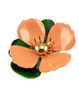 Vintage Sarah Coventry Tahitian Flower brooch p... - $22.00