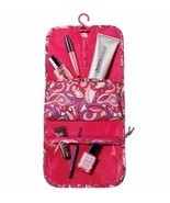 Hanging Makeup Organizer - Modern Pink Print - (Plastic) - £6.53 GBP