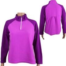 Columbia youth kids arctic air fleece half zip jacket size XL 18-20 (f-3) - $13.64