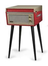Crosley Bermuda Deluxe Turntable - Red CR6233D-RE - $249.99