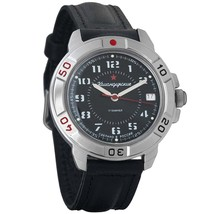 Vostok Komandirskie 431186 Russian Military Mechanical Watch Red Star - $36.18