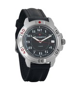 Vostok Komandirskie 431186 Russian Military Mechanical Watch Red Star - $36.18