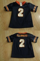 Toddler Boys Illinois Illini #2 4T Football Jersey - $18.69