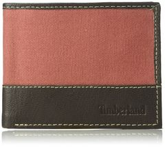 Timberland Men's Leather Credit Card ID Bifold Wallet With Key Fob Gift Box Set image 7