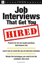 An item in the Books category: Job Interviews That Get You Hired (Workplace Skills And Career Tools) [Mar 21, 2